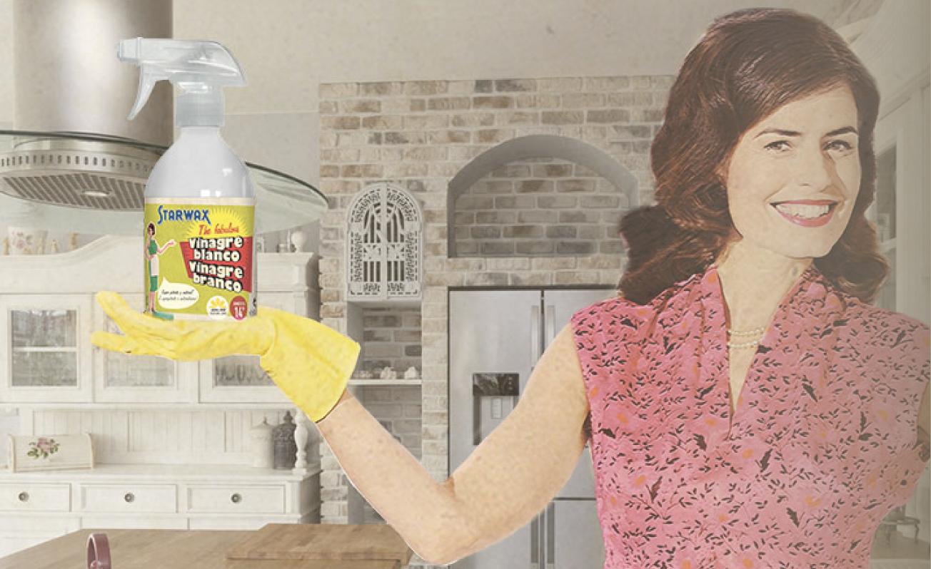 Cuatro razones para limpiar con vinagre blanco